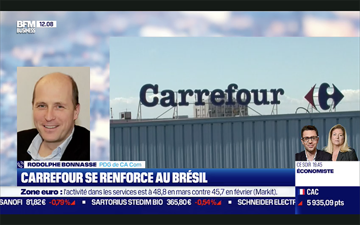 Carrefour rachat Grupo big
